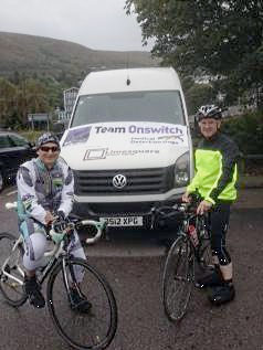 Cycling 900 miles for Medical Detection Dogs